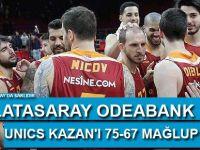 Galatasaray Odeabank, UNICS Kazan'ı 75-67 mağlup etti