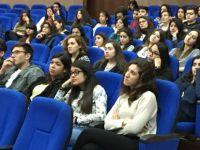 Kemal Saraçoğlu Vakfı, TED Kuzey Kıbrıs Koleji'nde beslenme ve kanser konulu seminer verdi