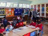 SAYTEV'den Şehit Özdemir Anaokulu'na eğitim materyali bağışı