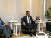 Ertuğruloğlu, Uluslararası Cumhuriyetçiler Enstitüsü heyetini kabul etti
