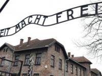 Çıplak eylemciler Polonya'daki Auschwitz toplama kampında koyun öldürdü