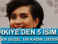 Türkiye'den 5 isim 'En güzel 100 kadın' listesinde