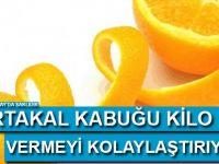 Portakal Kabuğu Kilo Vermeyi Kolaylaştırıyor!