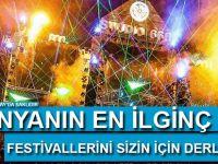 Dünyanın en ilginç 10 festivali