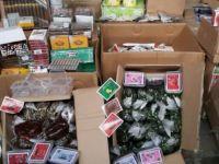 Gazimağusa'da 32 kilo gümrüksüz nargile tütünü ele geçirildi
