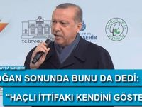 """Erdoğan: """"Faşistsiniz, faşis!t"""""""