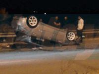 Lefkoşa-Girne yolunda kaza: 21 yaşındaki genç yaralandı!