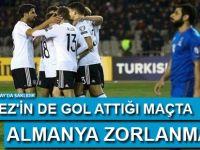 Gomez'in de gol attığı maçta Almanya zorlanmadı