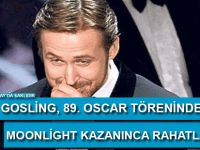Ryan Gosling: Moonlight kazanınca rahatladım!