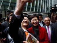 Hong Kong'a ilk kadın lider