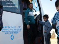 Suriye'nin en büyük üçüncü kenti Humus'ta tahliye operasyonu