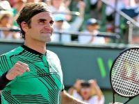 Federer'in bileği bükülmüyor