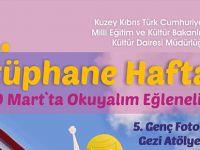 Kültür Dairesi, kütüphane haftası çerçevesinde yarın şölen düzenleyecek