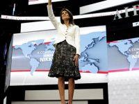 Yahudilerin yeni ABD'li şövalyesi' Haley: İsrail'in itilip kakıldığı günler bitti