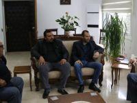 Avcılık Federasyonu Heyetinden Başbakan Yardımcısı Denktaş'a ziyaret