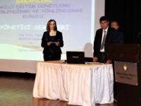 """""""Okul Yöneticisi-Liderlik Mevzuatı"""" konulu hizmet içi eğitim semineri yapıldı"""