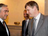 Cumhurbaşkanı Akıncı İngiltere Dışişleri Bakanlığı'ndan Allen'i kabul etti