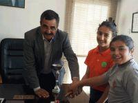 Ağırdağ-Dağyolu İlkokulu Kız Hentbol Takımı, Dikmen Belediyesini ziyaret etti