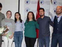 LAÜ ünlü senarist-yazar Şebnem Burcuoğlu'nu ağırladı