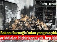 """Sucuoğlu'ndan flaş açıklama: """"Sağlık Bakanlığı'na """"elektrik sistemimizde problem var"""" şeklinde bir yazı gönderildi"""""""