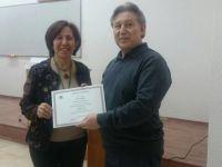 DAÜ Öğretim Üyesi Aydoğan'dan iki temsiliyet