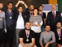 Kıbrıs İlim Üniversitesi  bahar turnuvalarında ödüller sahiplerini buldu