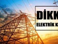 Lefke'de yarın bazı bölgelere elektrik verilemeyecek