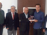 Bisiklet Federasyonu Başkanı Adademir'den, Benli'ye teşekkür ziyareti