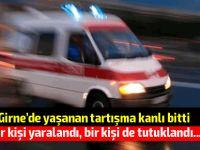Girne'de bıçaklı saldırı!