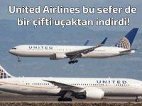 Bu sefer de nişanlı bir çifti uçaktan indirdiler!