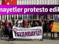 Kadın cinayetleri protesto edildi!