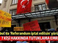 """İstanbul'da on binler """"hayır"""" için sokağa indi!"""