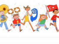 Google Ulusal Egemenlik ve Çocuk Bayramı için Doodle hazırladı