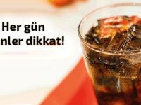 Gazlı diyet içecekler her gün tüketilirse ne olur?
