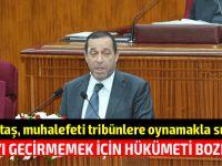 """""""Kamu Görevlileri Yasa Tasarısı'nın komitede görüşülmesine ilişkin tezkeresi reddedildi"""