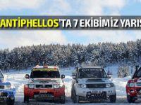 Rally Antiphellos, Antalya'nın Kaş ilçesinde yapılıyor