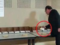 Hollande fena yakalandı: kendi partisinin adayına oy vermemiş