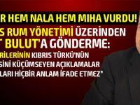Tatar'dan göndermeli açıklamalar!