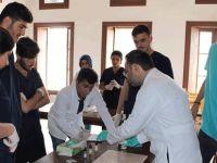 KAÜ Biyoloji Labaratuarı için ilk adımını attı