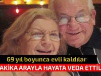 ABD'de 69 yıl evli kalan bir çift, 40 dakika arayla hayata veda etti...
