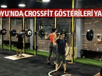 Dereboyu'nda CrossFit gösterisi yapılıyor!