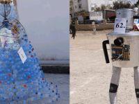 KTEV'in 2'nci Atık Malzemelerden Heykel Yapma Yarışması yapıldı