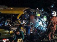 Myanmar'da otobüs uçuruma yuvarlandı: 17 kişi öldü, 22 kişi yaralandı