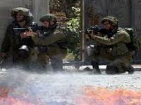 İsrail askerlerinin Batı Şeria'daki gösterilere müdahalesi
