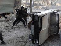 Suriye'nin başkenti Şam'ın doğusunda yoğun çatışmalar yaşanıyor