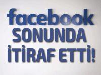 Facebook'tan flaş itiraf