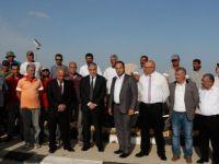 Cumhurbaşkanı Akıncı, Büyükkonuk'ta yapılan temizlik çalışmalarına katıldı