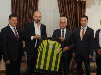 Eroğlu MTG yeni Yönetim Kurulu'nu kabul etti