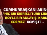 Cumhurbaşkanı Akıncı, Rum liderin o önerisini açıkladı...