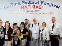 53. Türk Pediatri Kongresi Girne'de yapıldı